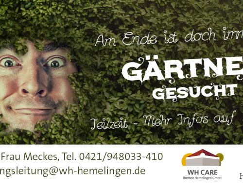 Gärtner gesucht