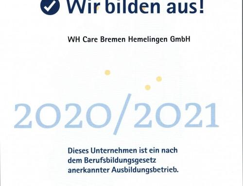 WIR BILDEN AUS 2020 / 2021